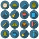 Set Of Camping Icons - GraphicRiver Item for Sale