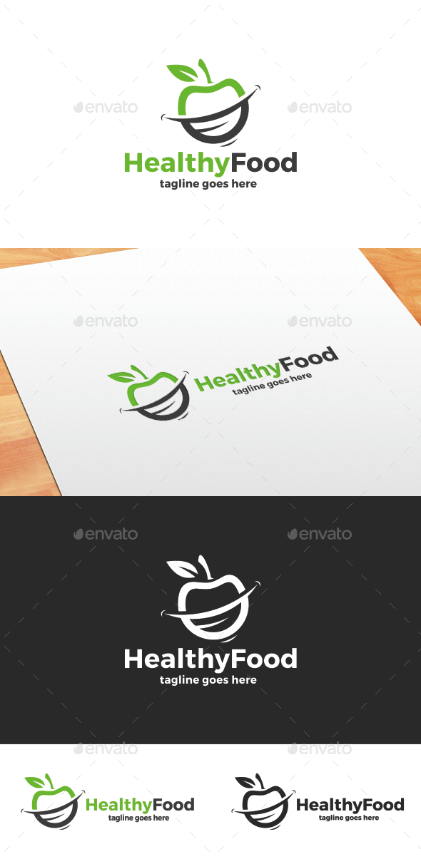 Healthy Food Logo - Food Logo Templates