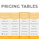 Modern Clean Price Tables (Hosting Plans) - GraphicRiver Item for Sale