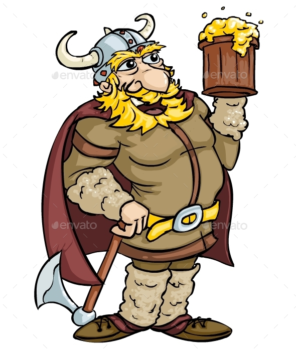 Viking - Characters Vectors
