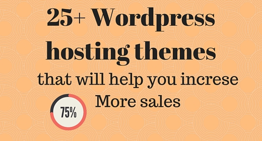 25+ WordPress Hosting Themes and Templates