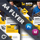 Auto Spare Part Flyer Templates - GraphicRiver Item for Sale