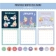 Cute Calendar Diary 2016 With Seasonal Themes - GraphicRiver Item for Sale