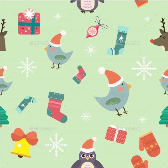 Christmas Vector Icons Set - Christmas Seasons/Holidays