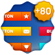 +80 WEB BUTTONS - GraphicRiver Item for Sale
