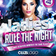 Ladies Rule the Night Flyer Template - GraphicRiver Item for Sale