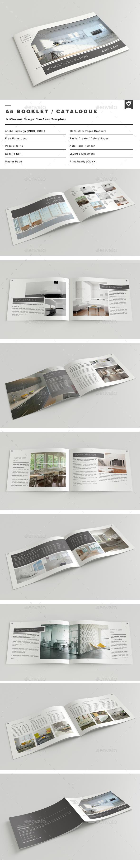 A5 Booklet / Catalogue - Catalogs Brochures