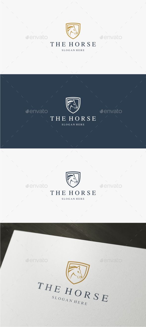 Horse - Logo Template - Animals Logo Templates