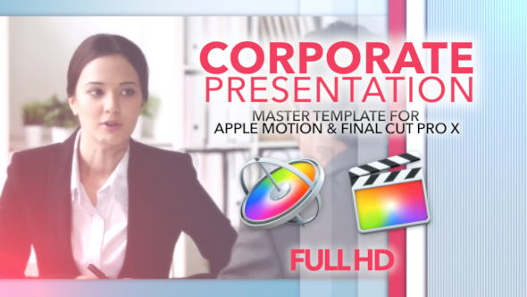 Corporate Presentation for Apple Motion & FCP X