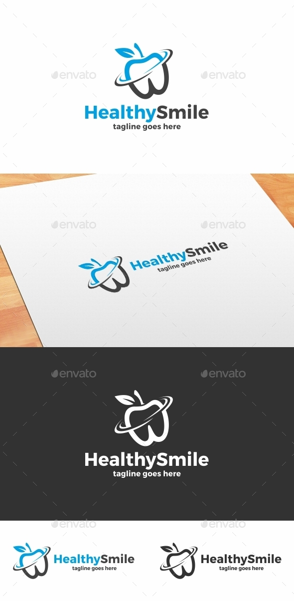 Healthy Smile Logo - Objects Logo Templates