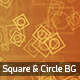 Square and Circle Backgrounds - GraphicRiver Item for Sale