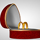 Heart box of rings - 3DOcean Item for Sale