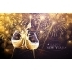 New Year Fireworks and Champagne - GraphicRiver Item for Sale