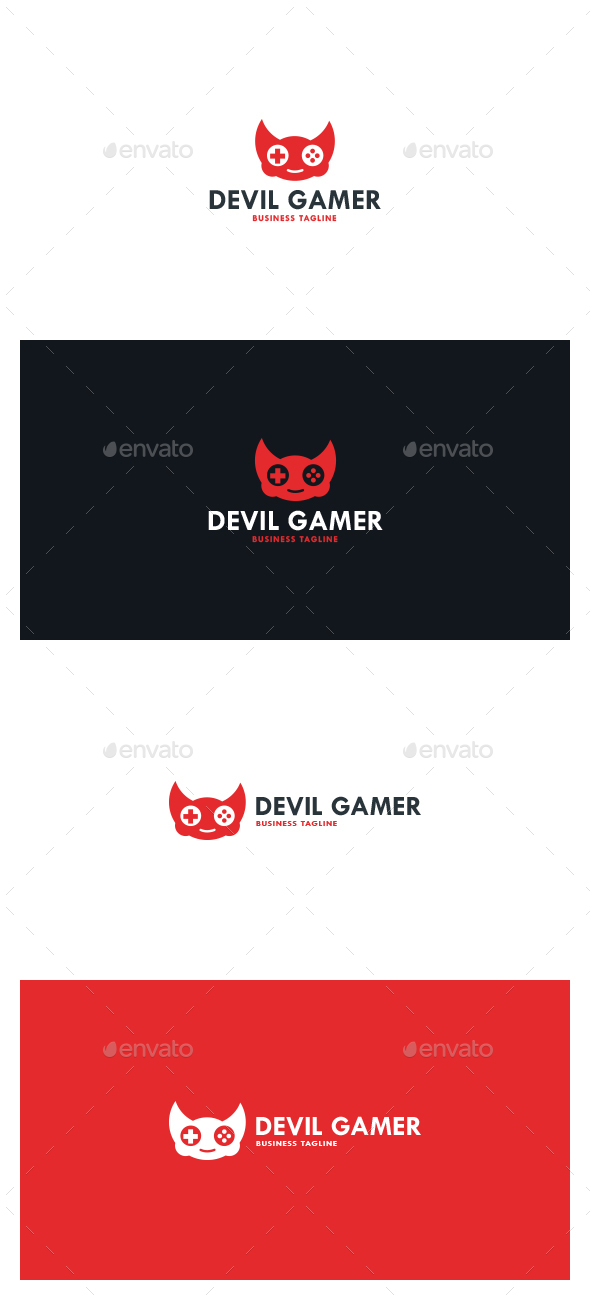Devil Gamer Logo