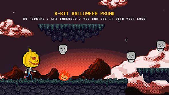 Halloween 8-bit Promo