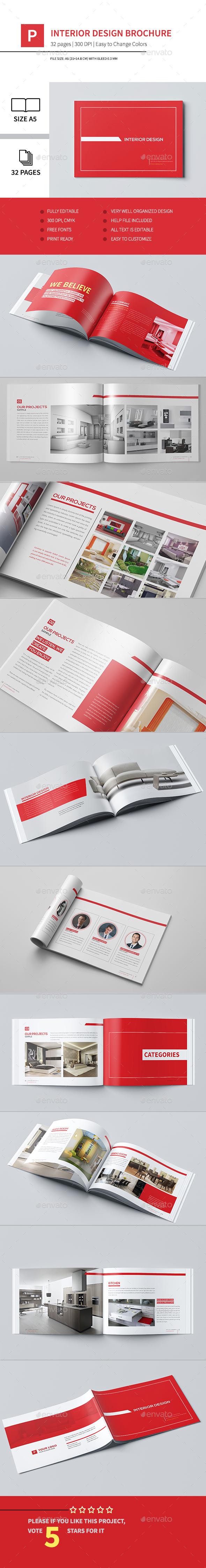 Interior Design Brochure 2015 - Brochures Print Templates
