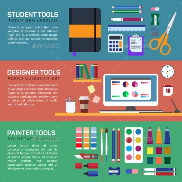 Painter and Designer Tools in Workspace