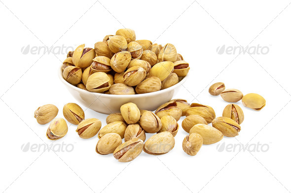 Pistachios - Stock Photo - Images