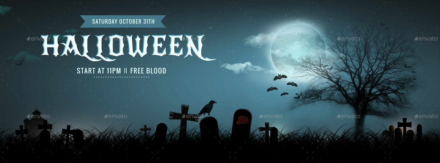 halloween facebook coverhyov | graphicriver