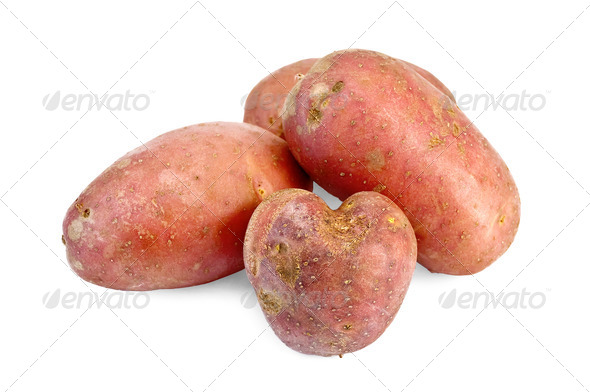 Potatoes red - Stock Photo - Images