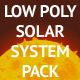 Solar System Low Poly Pack - GraphicRiver Item for Sale
