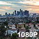 View of Skyline from East Side Los Angeles - VideoHive Item for Sale