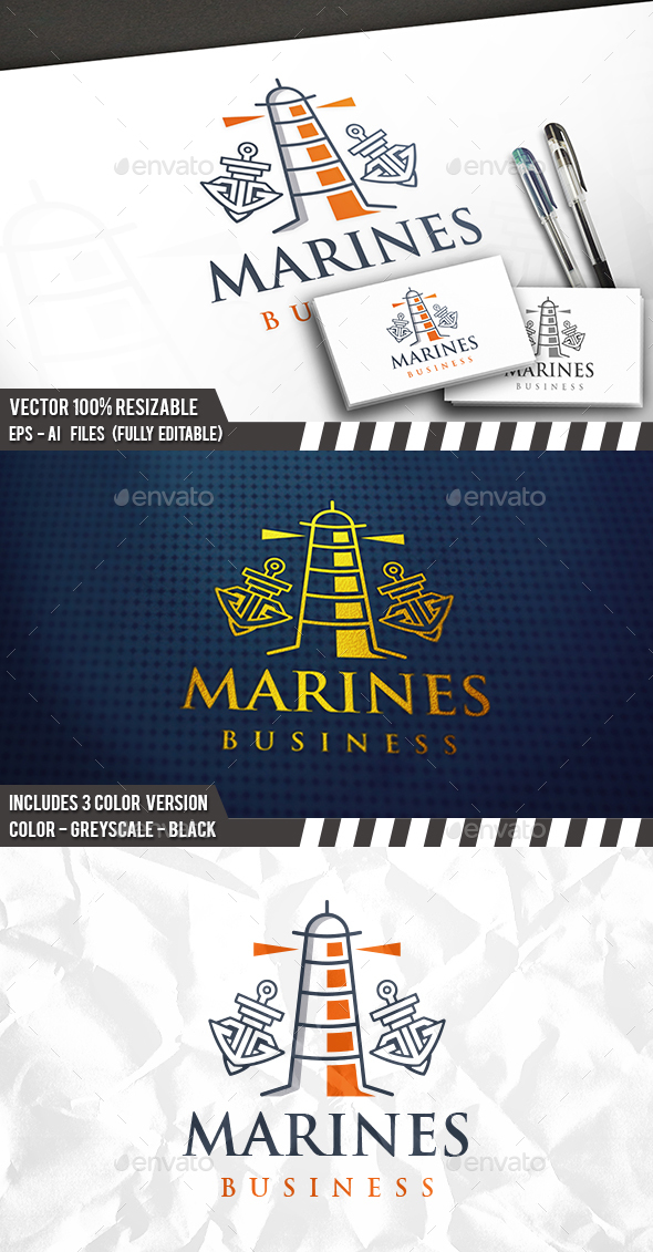 Nautical Logo - Objects Logo Templates
