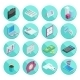 Isometric Flat Style Design Colorful Business And - GraphicRiver Item for Sale