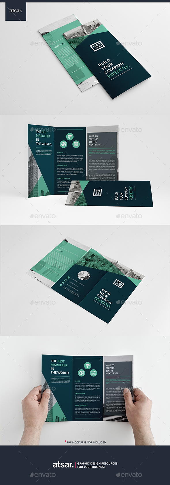 Tosco Business Trifold - Corporate Brochures