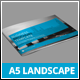 A5 Landscape Business Brochure Template - GraphicRiver Item for Sale