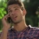 Portrait Of a Male Receiving a Call - VideoHive Item for Sale