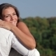 Pregnant Couple Hugging In Nature - VideoHive Item for Sale