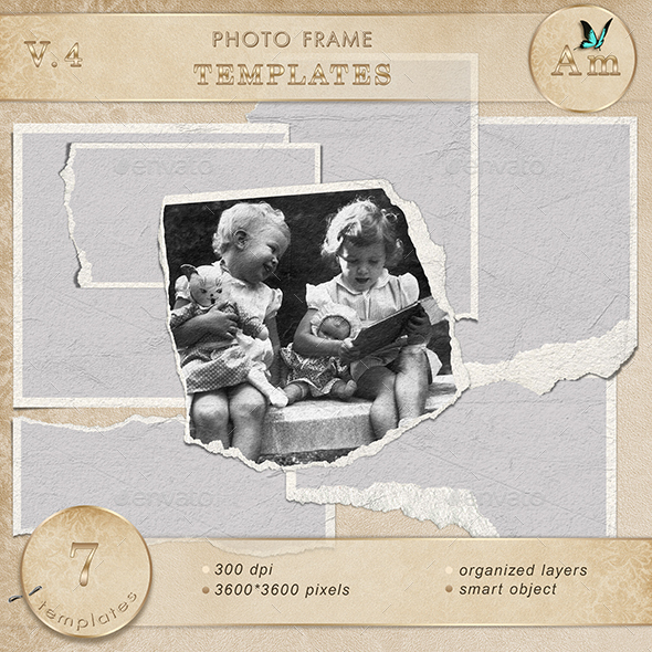 Photo frame templates V4