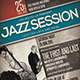 Jazz Event Flyer / Poster Vol.9  - GraphicRiver Item for Sale