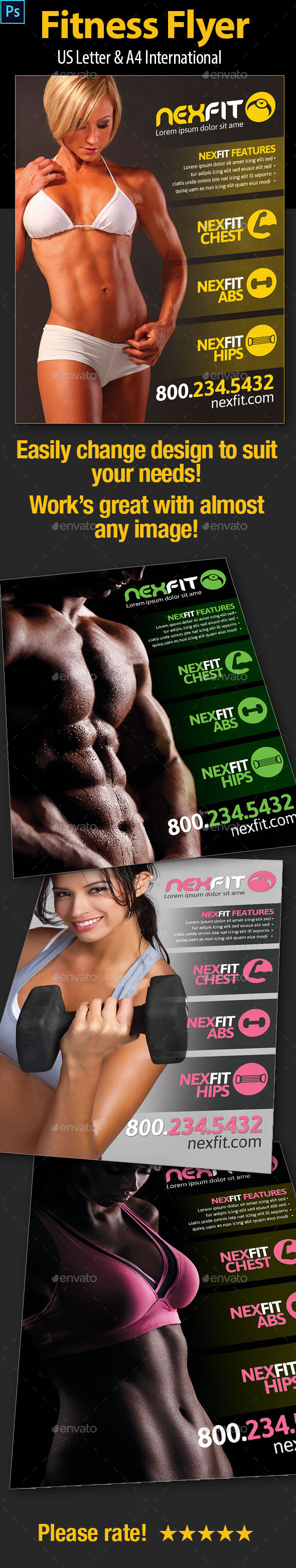 Fitness/Workout Flyer - Miscellaneous Events