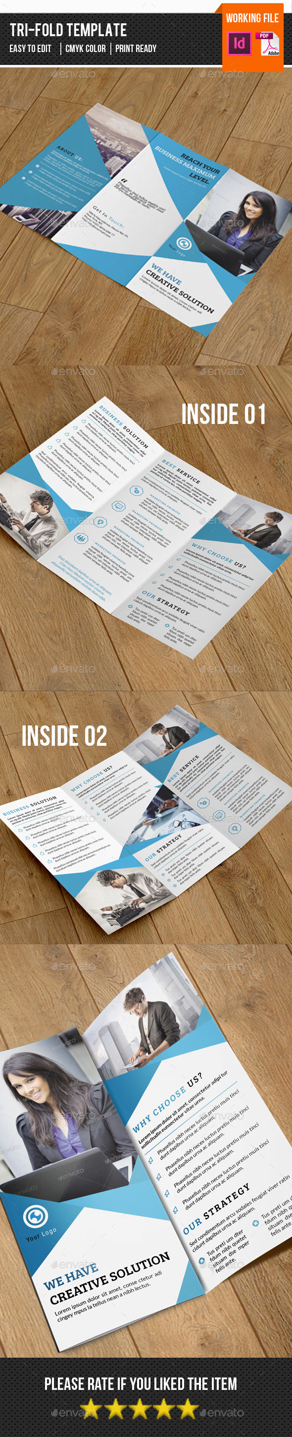 Corporate Trifold Brochure-V257 - Corporate Brochures
