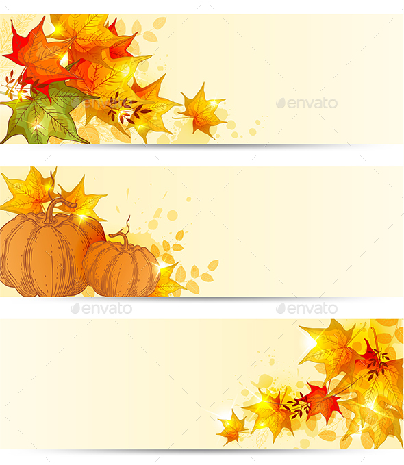 Autumn Horizontal Backgrounds - Seasons Nature
