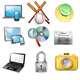 Realistic Icons of Objects - GraphicRiver Item for Sale