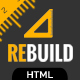ReBuild - Construction & Renovation HTML Template - ThemeForest Item for Sale