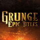 Grunge Epic Trailer - VideoHive Item for Sale