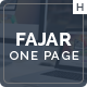 Fajar One Page Multi-Purpose Design - ThemeForest Item for Sale