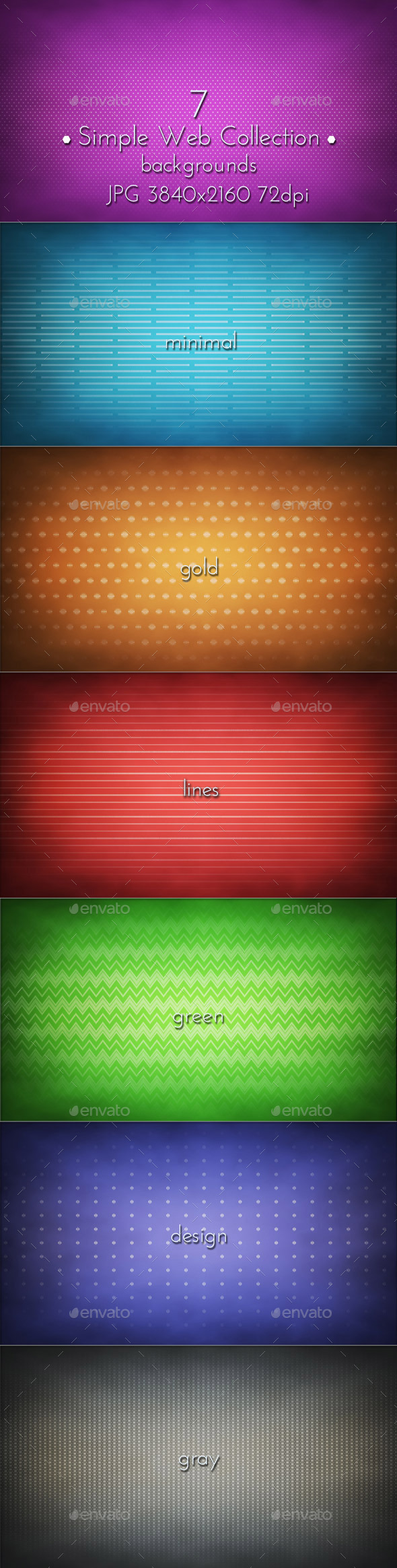 Simple Web Backgrounds