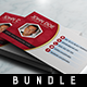 3 Corporate Business Card - Bundle  - GraphicRiver Item for Sale