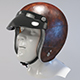 Retro Motorcycle Helmet  - 3DOcean Item for Sale