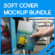 Soft Cover Mock-up Bundle