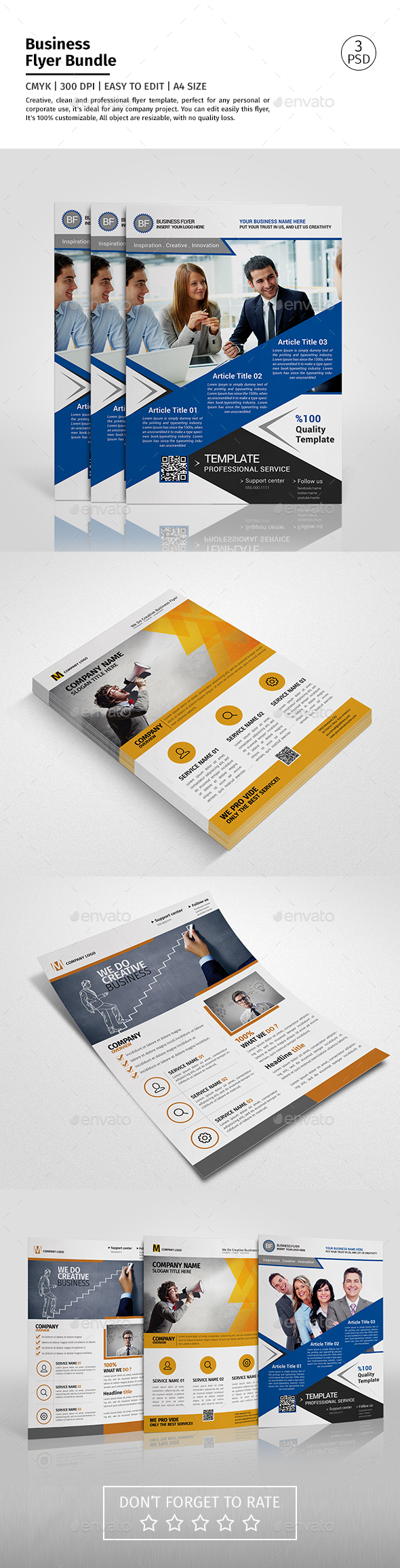 Corporate Flyer Bundle 07 - Corporate Flyers