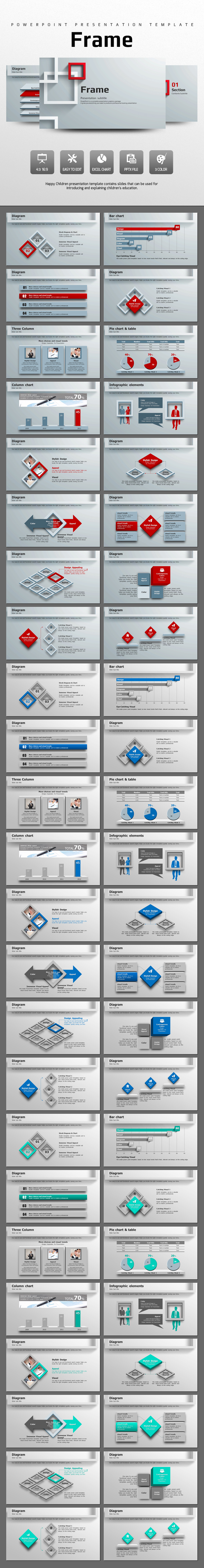 Frame  - Abstract PowerPoint Templates