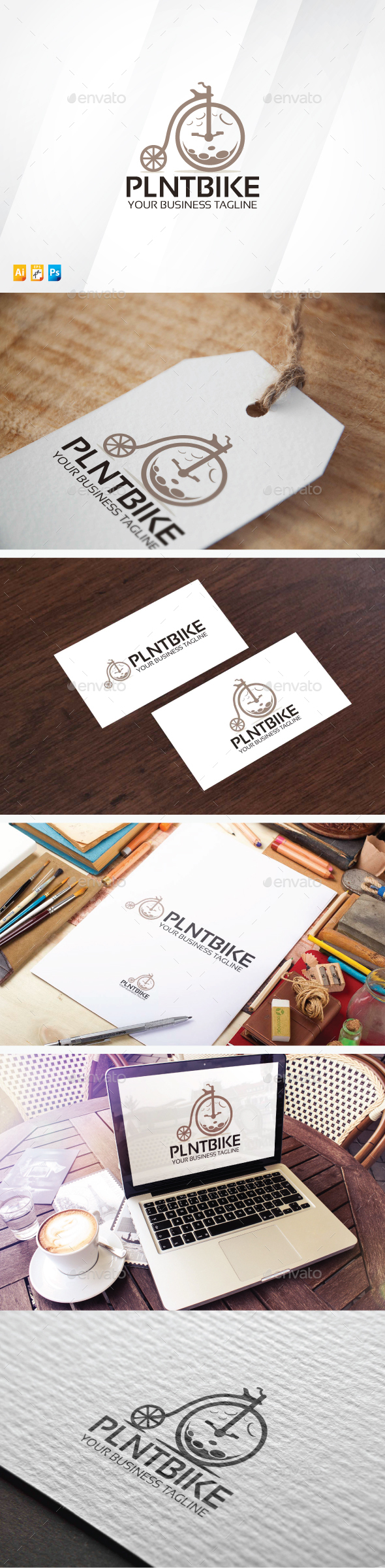 Planet Bike Logo - Objects Logo Templates