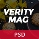 VerityMag - News & Magazine PSD Template