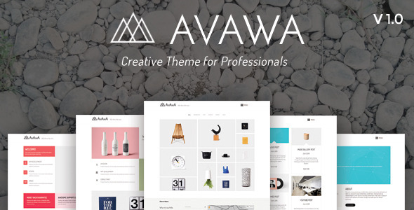 Avawa - Creative Theme for Professionals - Portfolio Creative